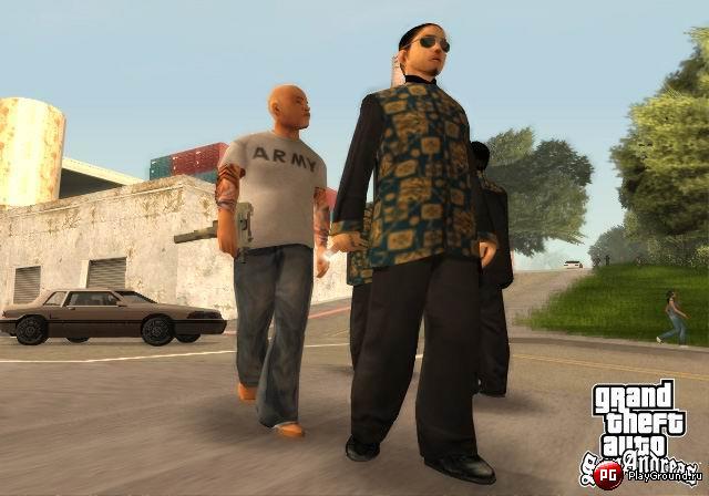 Grand Theft Auto: San Andreas + Snow Andreas V3,5 Final